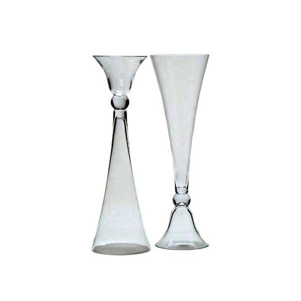 24 Hourglass Vase Abc Rentals Midwest