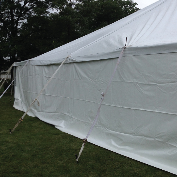 Solid Tent Sides & Solid Tent Sides | ABC Rentals Midwest