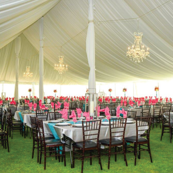 Tent Centerpole Cover & Tent Centerpole Cover | ABC Rentals Midwest